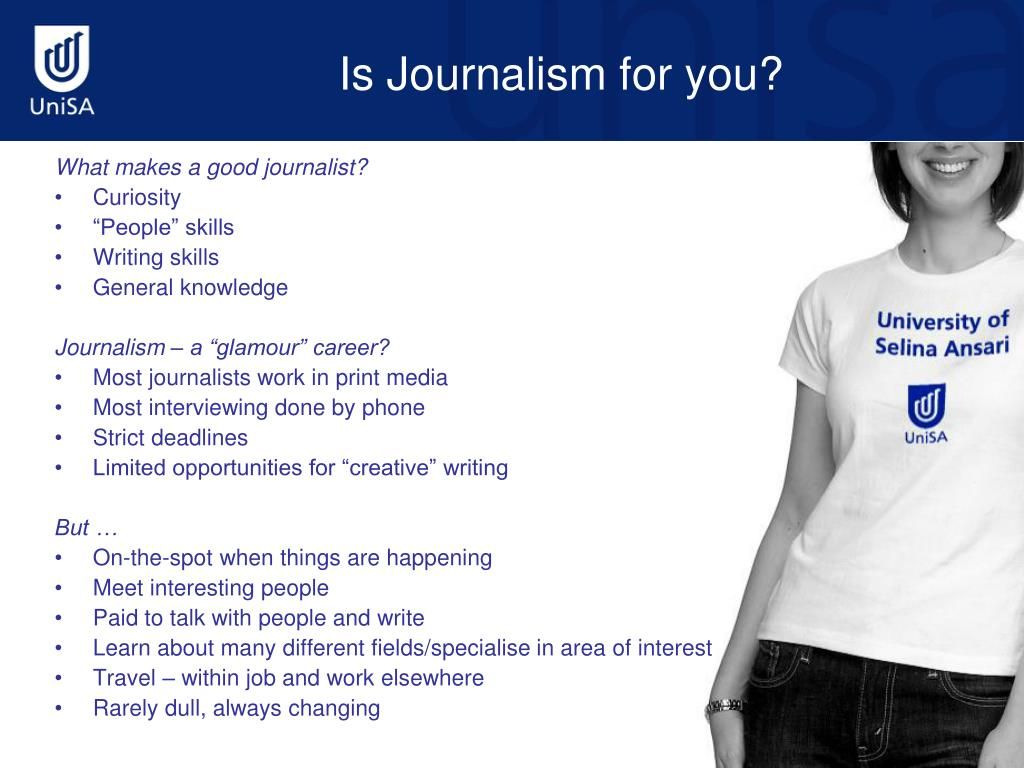 Is Journalism for you?