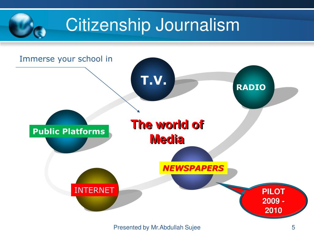 Citizenship Journalism