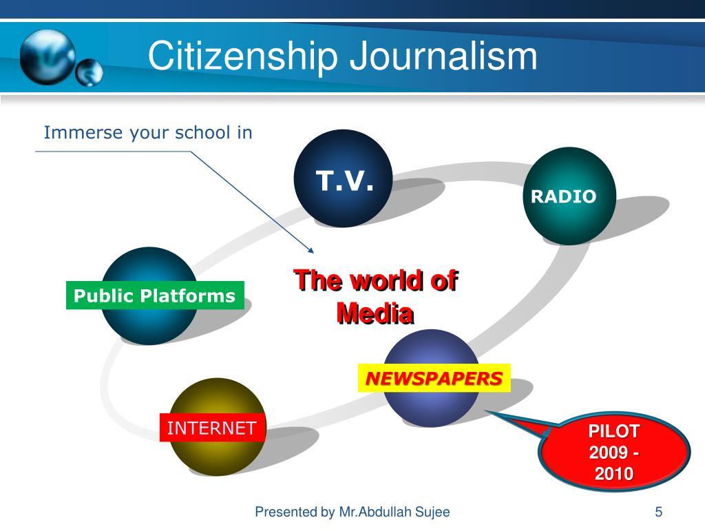 Citizenship Journalism