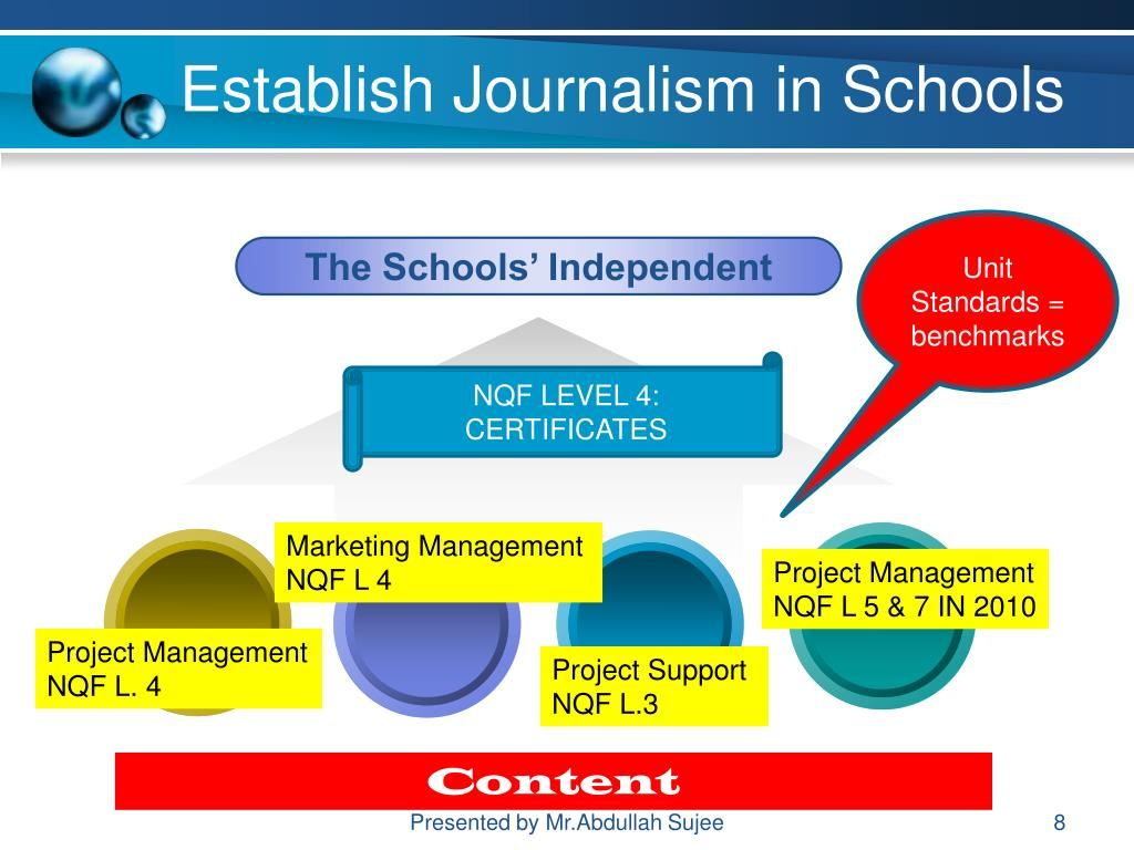 Establish Journalism in Schools