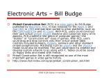 electronic arts bill budge