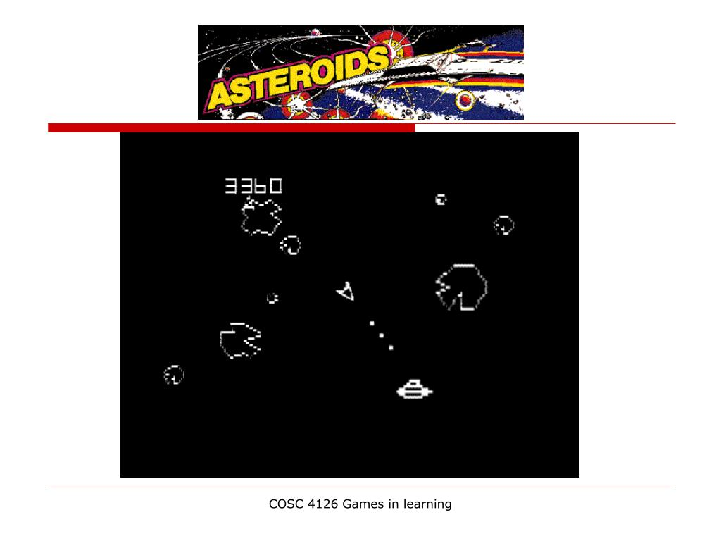 COSC 4126 Games in learning