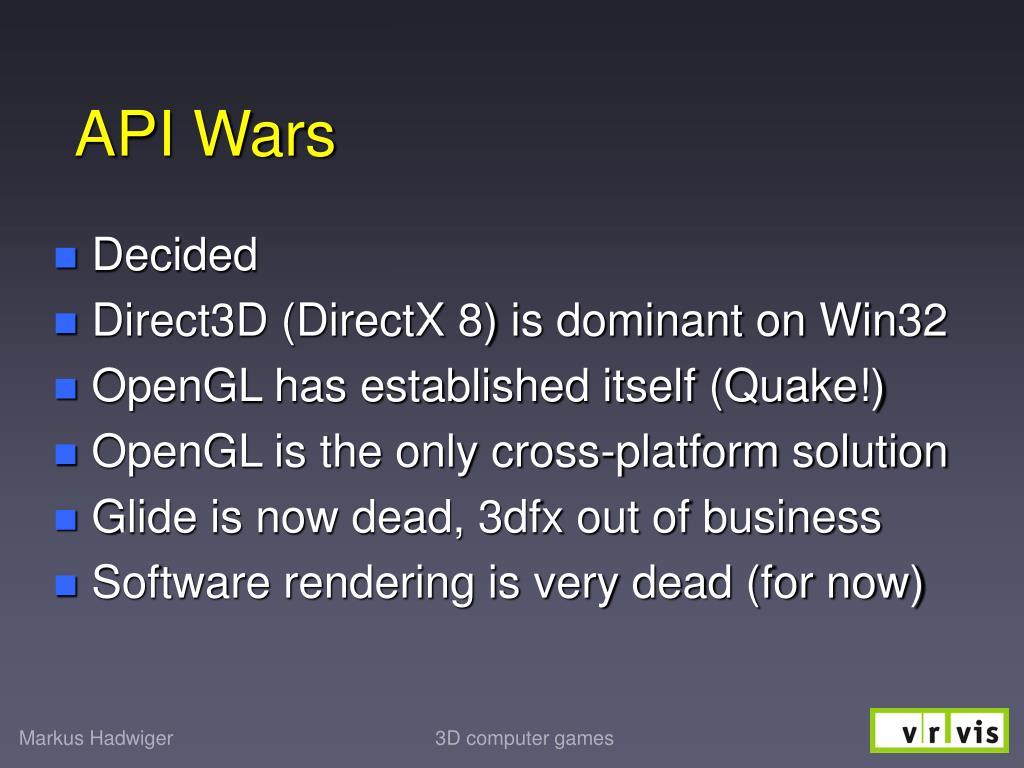API Wars