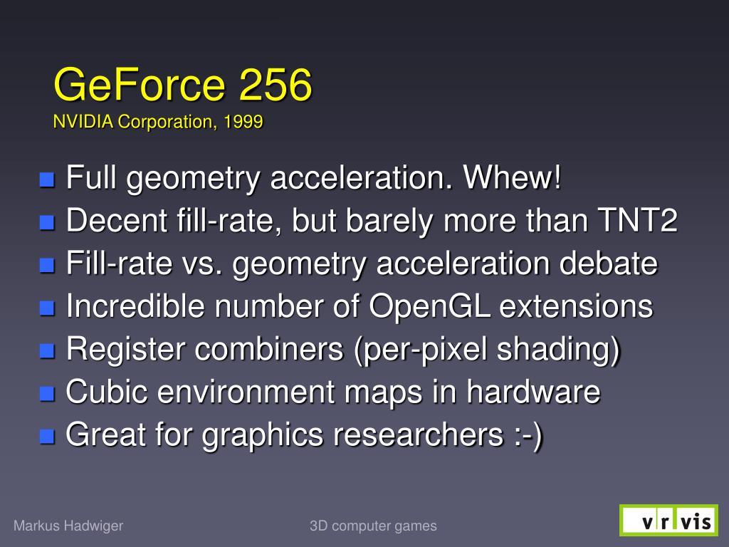 GeForce 256