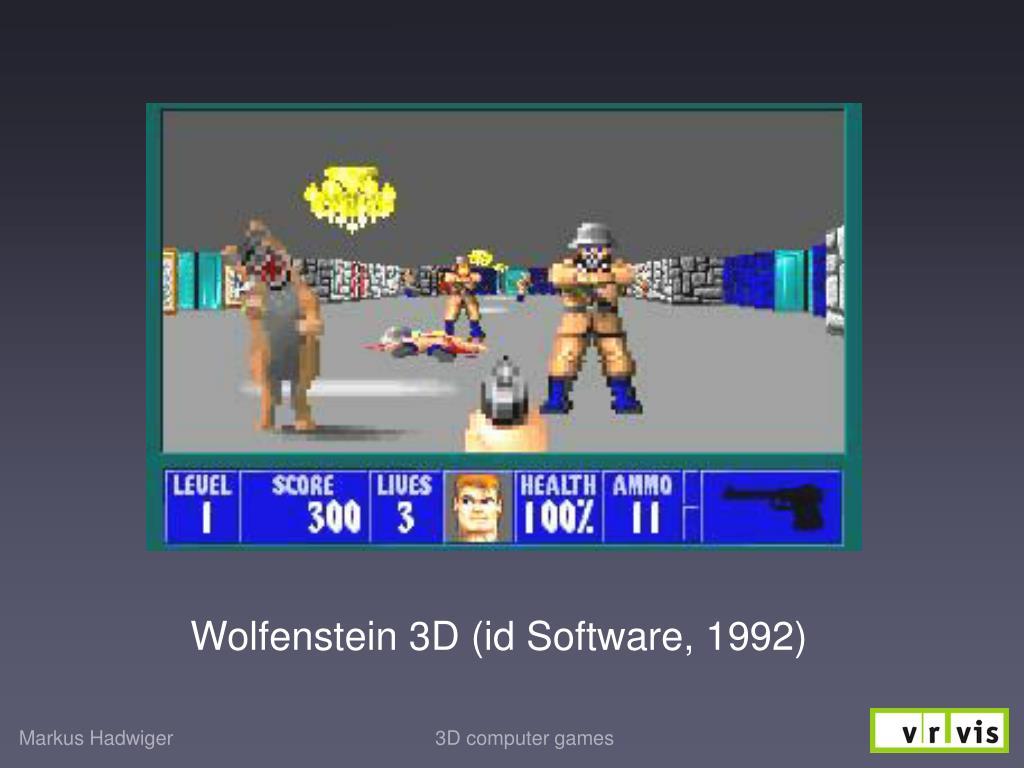 Wolfenstein 3D (id Software, 1992)