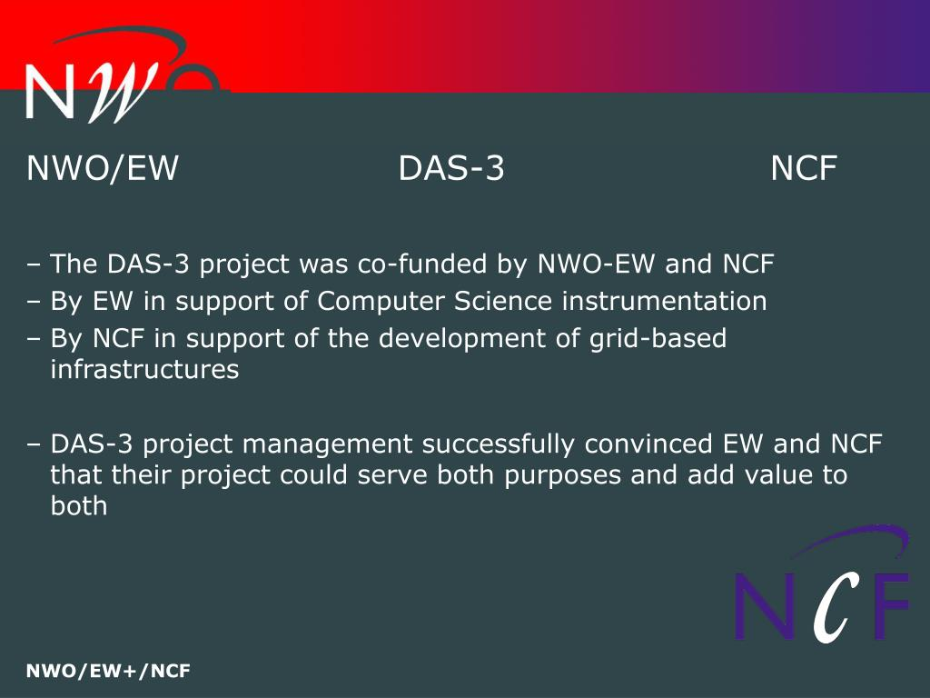 NWO/EWDAS-3NCF