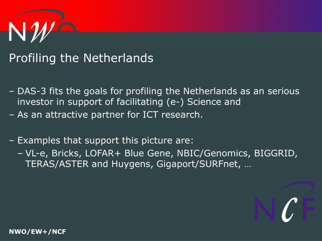 Profiling the Netherlands