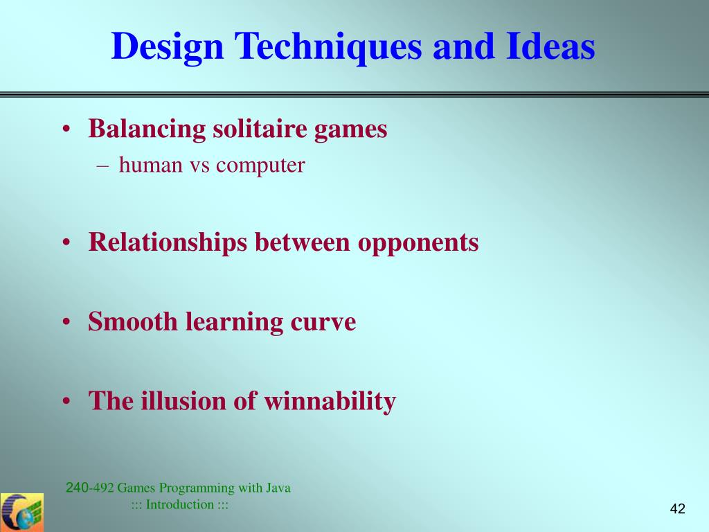 Design Techniques and Ideas