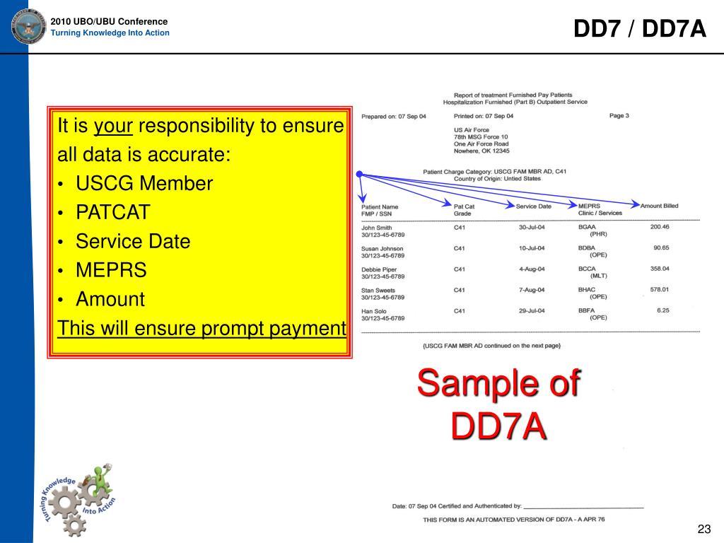 DD7 / DD7A