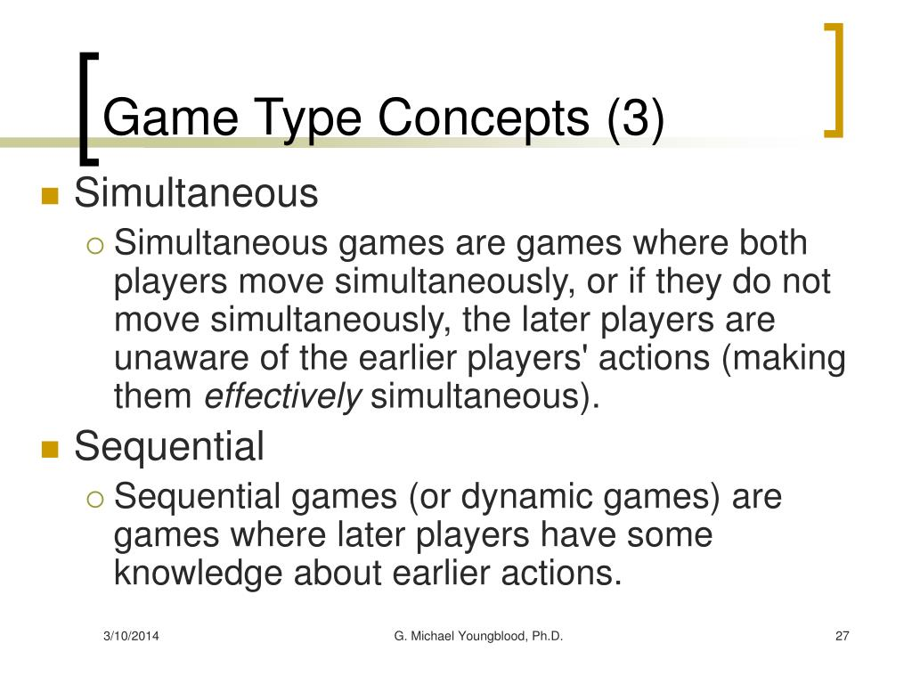 Game Type Concepts (3)