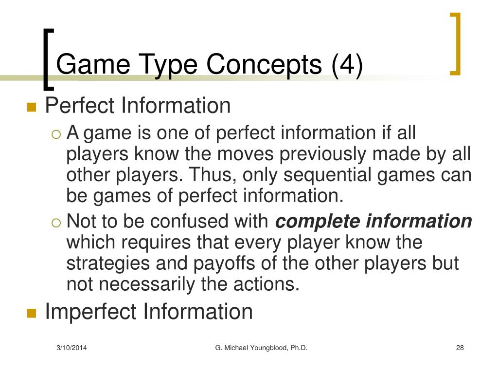 Game Type Concepts (4)