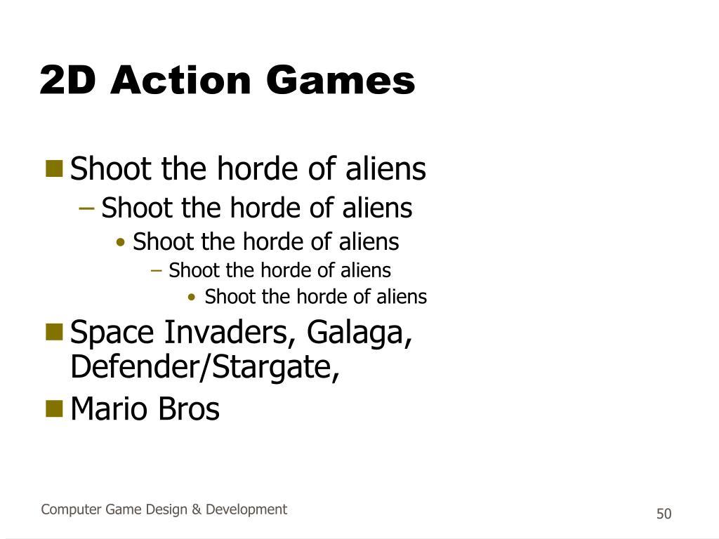 2D Action Games