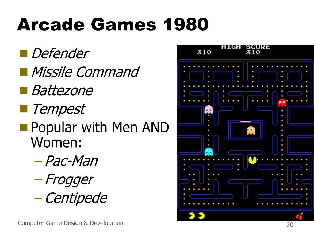 Arcade Games 1980