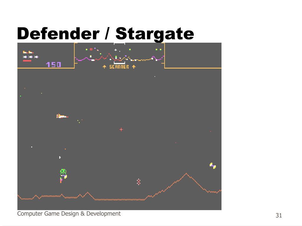 Defender / Stargate