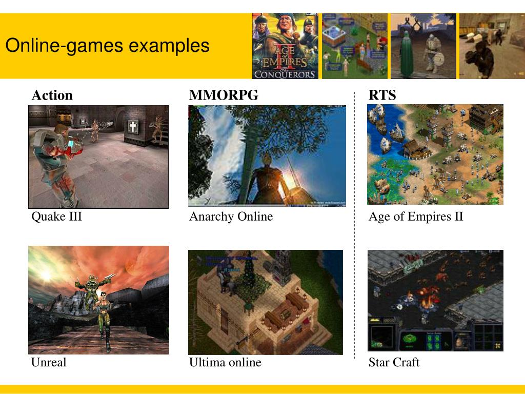 Online-games examples