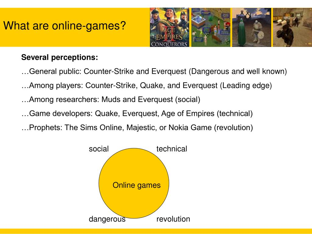 What are online-games?
