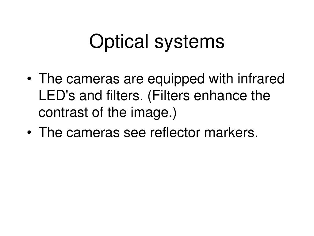 Optical systems