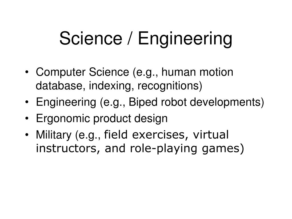 Science / Engineering