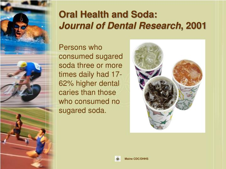 Oral Health and Soda: