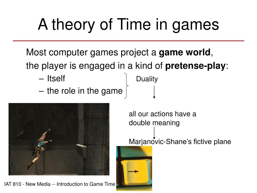 A theory of Time in games