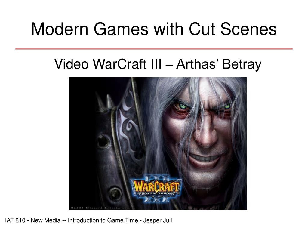 Modern Games with Cut Scenes