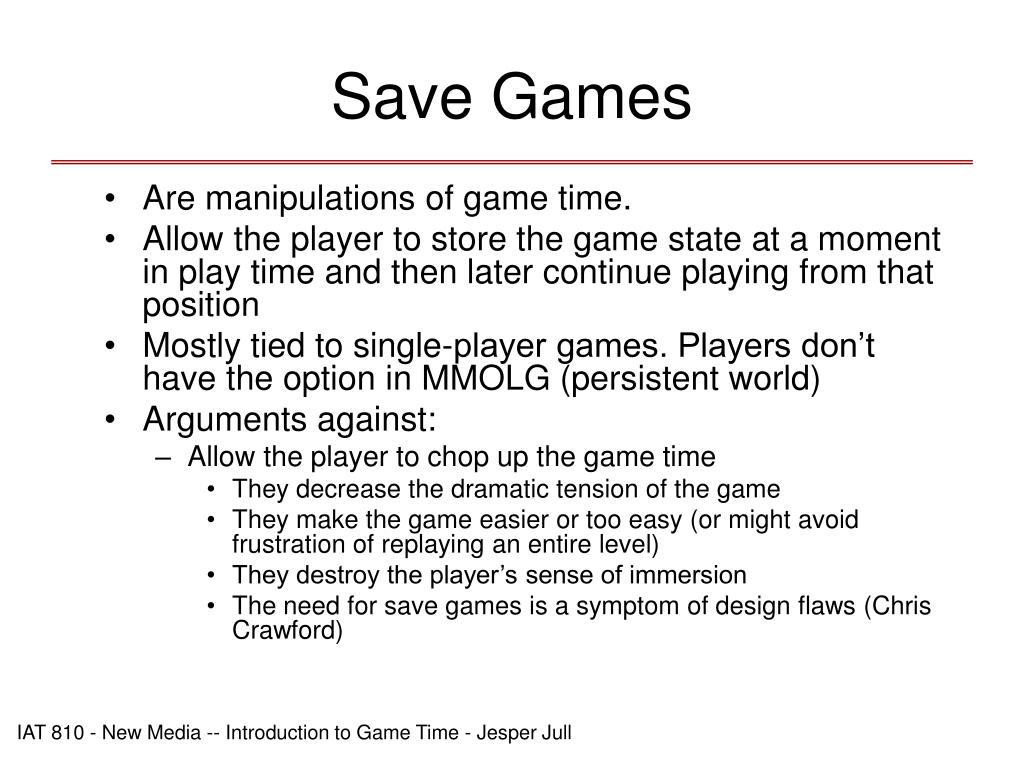 Save Games