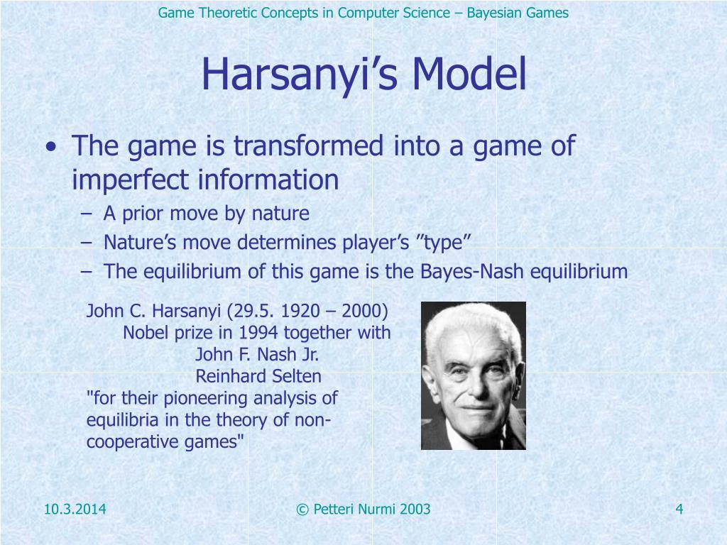 Harsanyi's Model