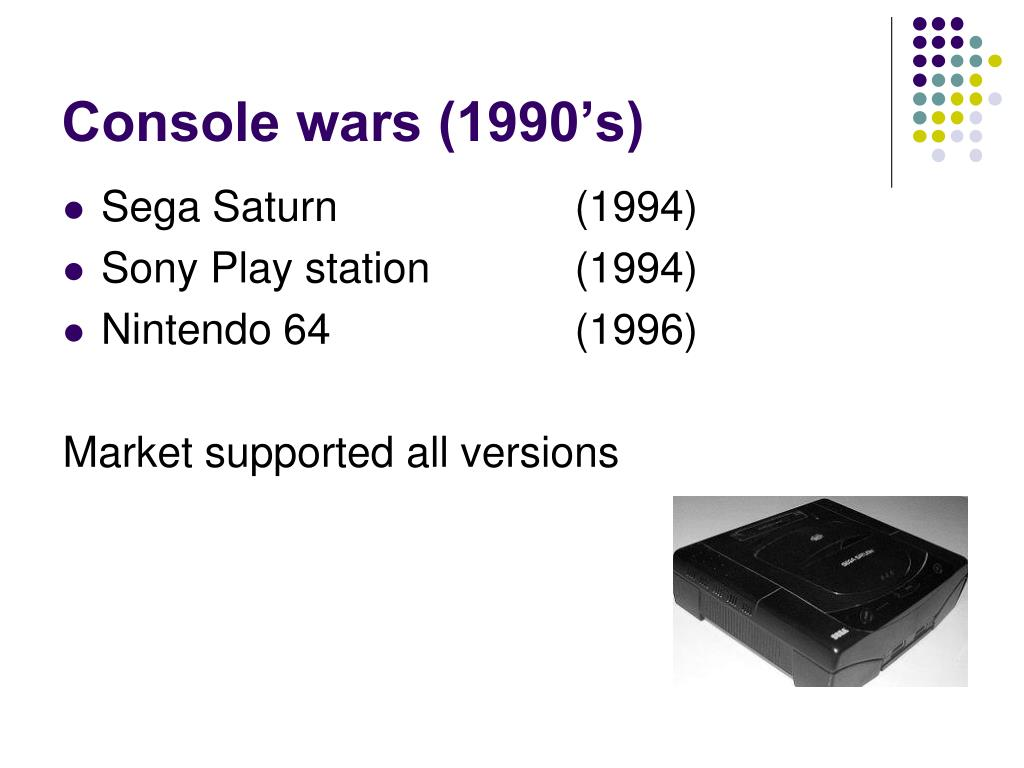 Console wars (1990's)