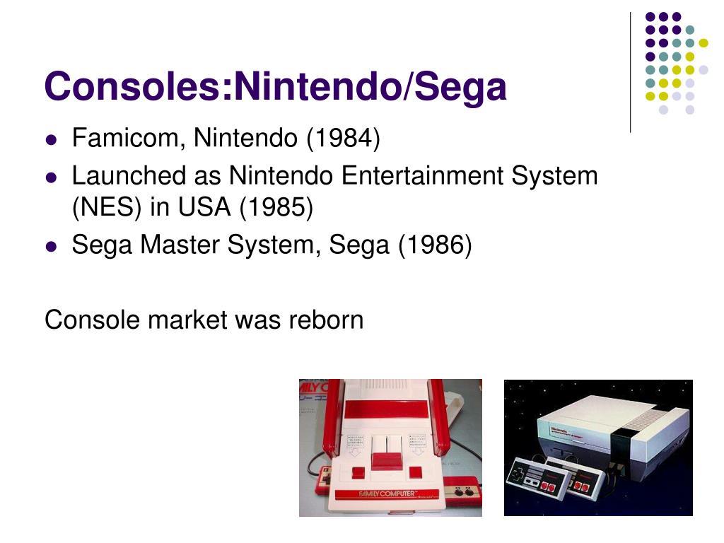 Consoles:Nintendo/Sega
