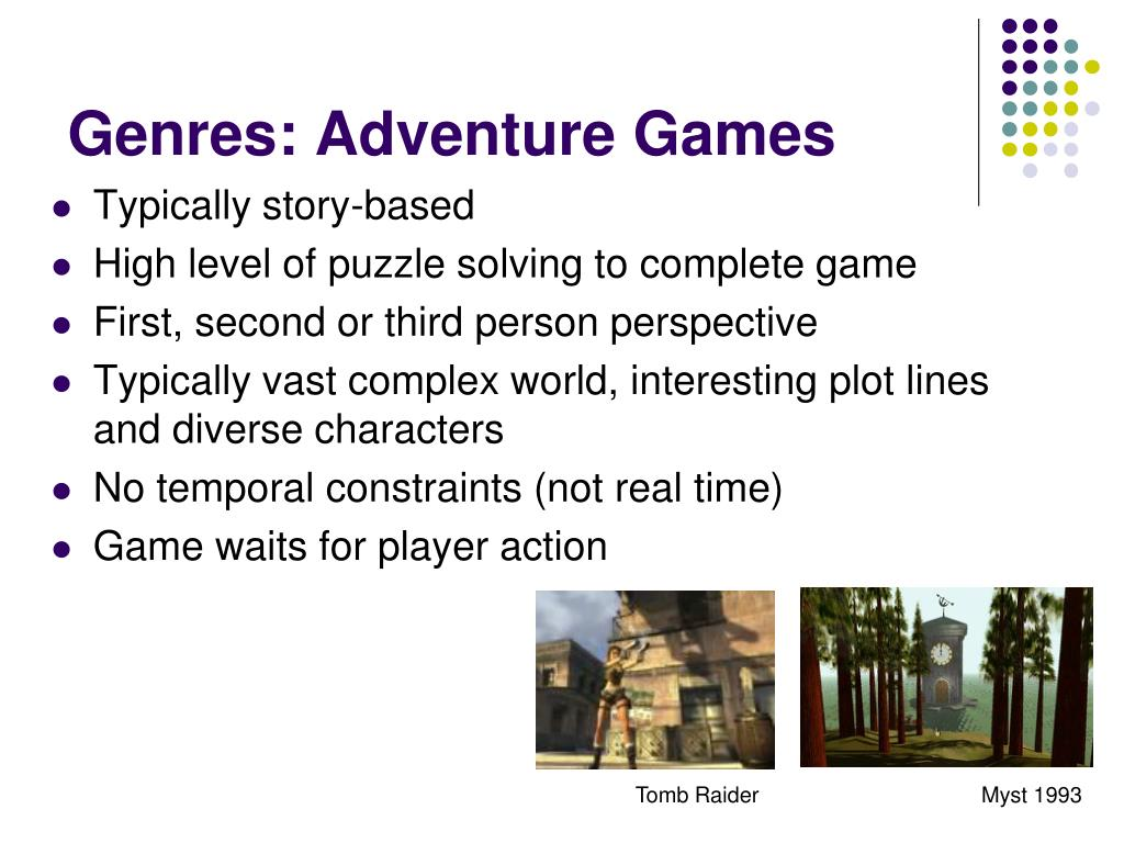 Genres: Adventure Games