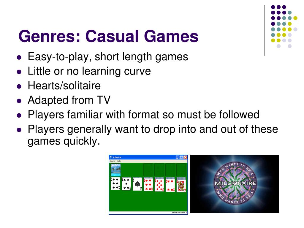 Genres: Casual Games