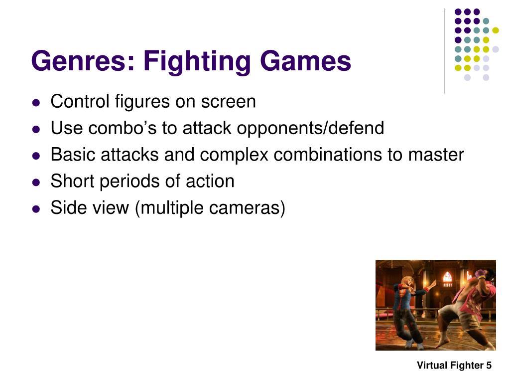 Genres: Fighting Games