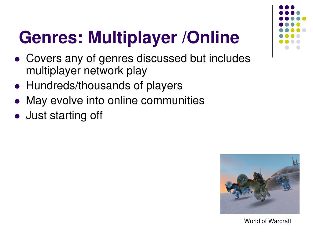 Genres: Multiplayer /Online