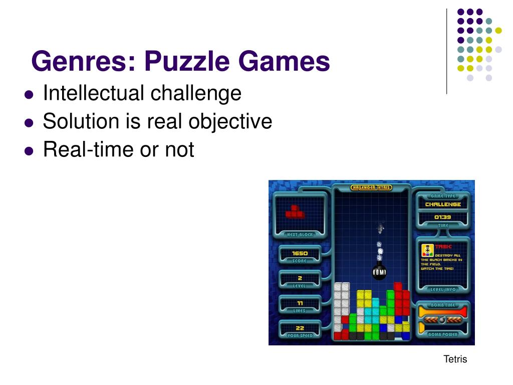 Genres: Puzzle Games
