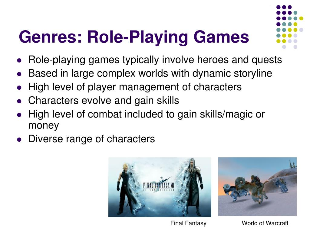 Genres: Role-Playing Games