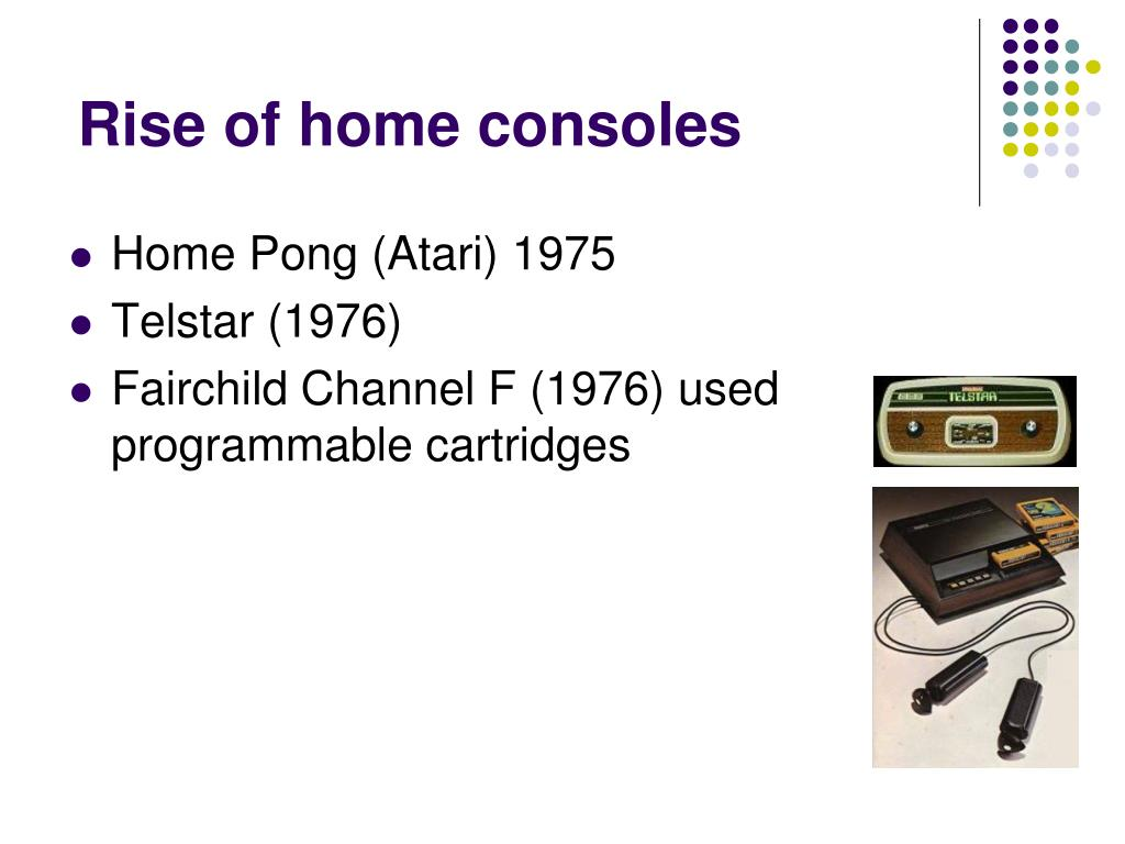 Rise of home consoles