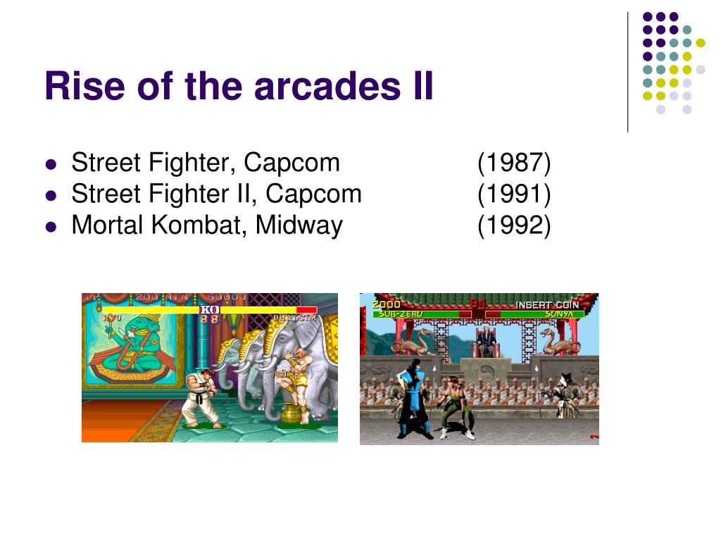 Rise of the arcades II