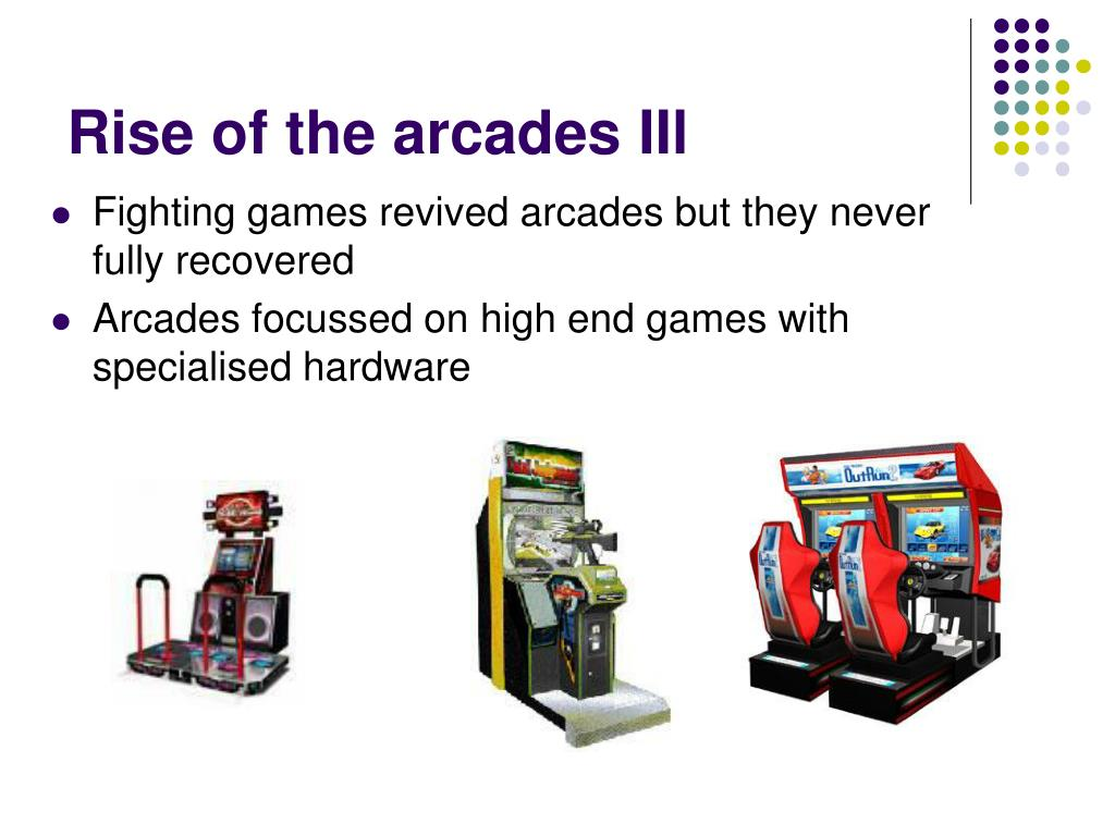 Rise of the arcades IIl