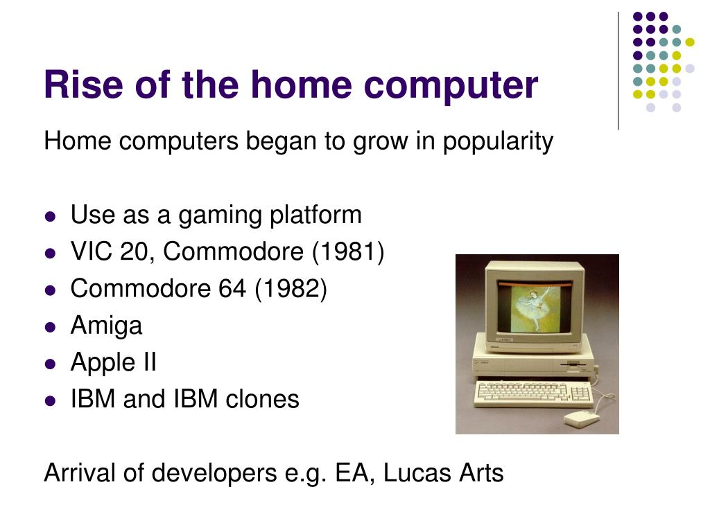 Rise of the home computer