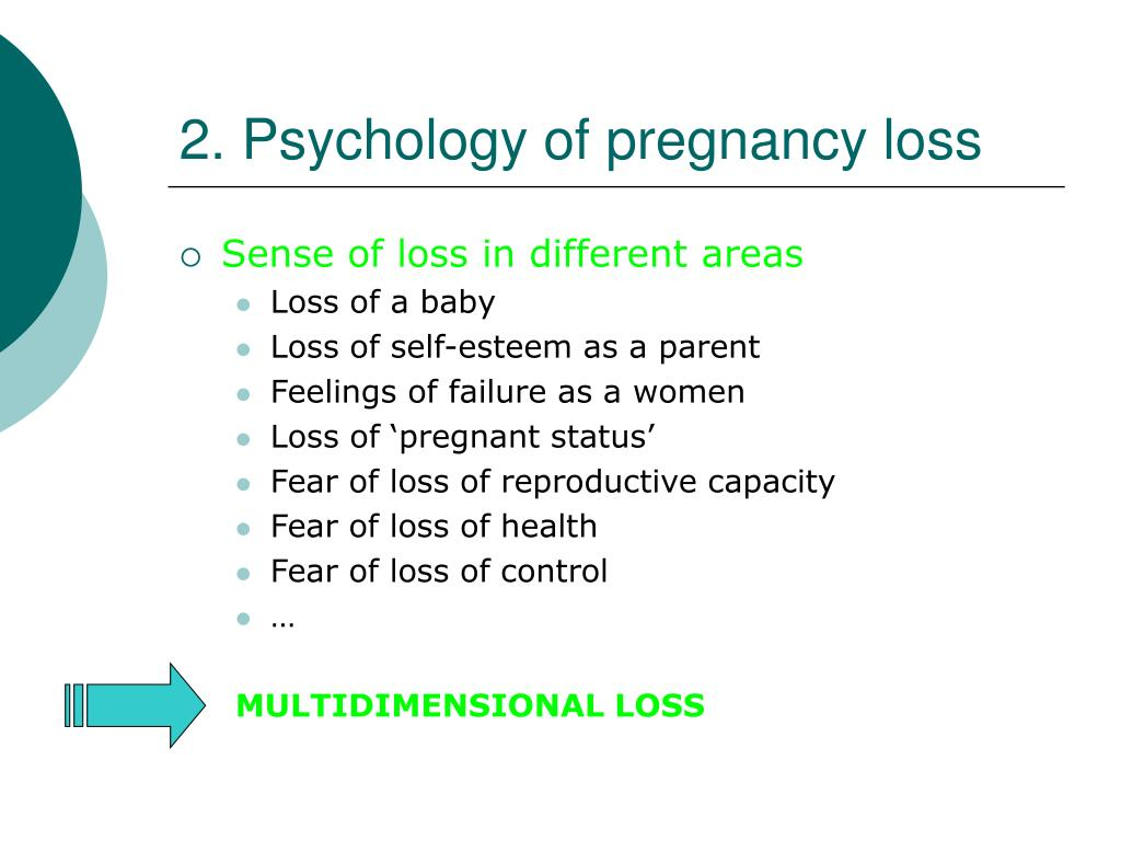 2. Psychology of pregnancy loss