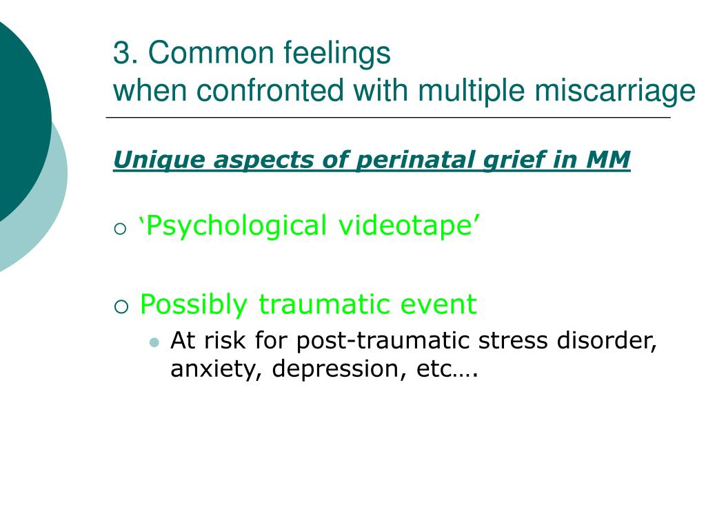 3. Common feelings