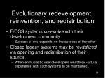 evolutionary redevelopment reinvention and redistribution14