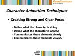 character animation techniques31