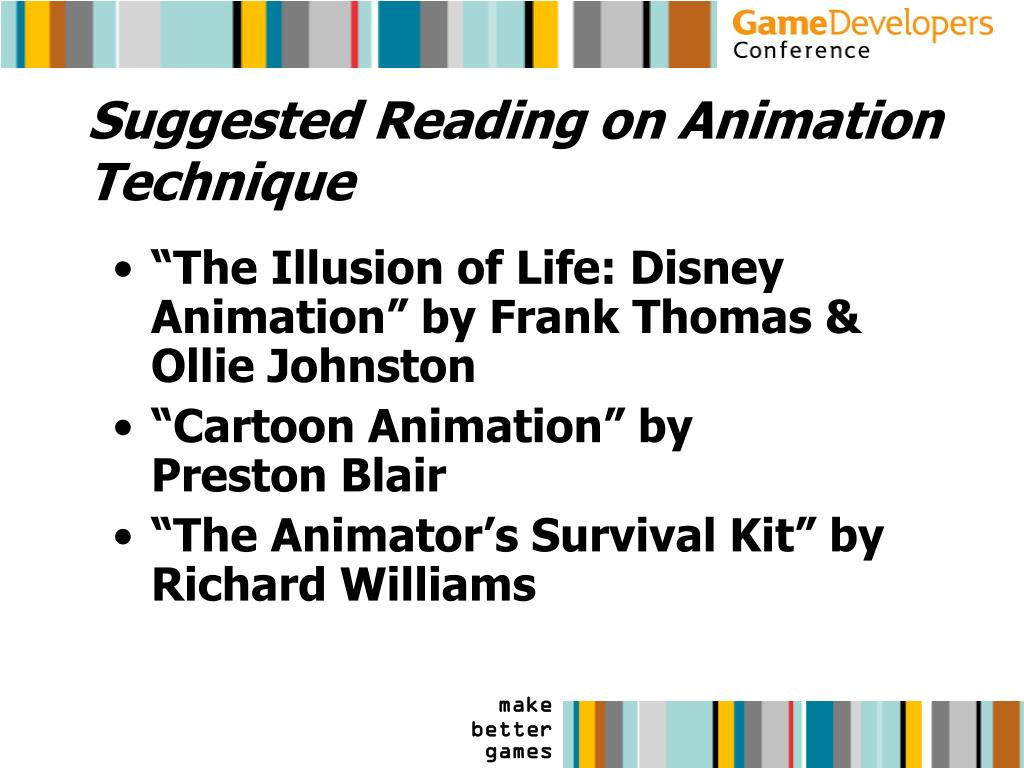 Suggested Reading on Animation Technique