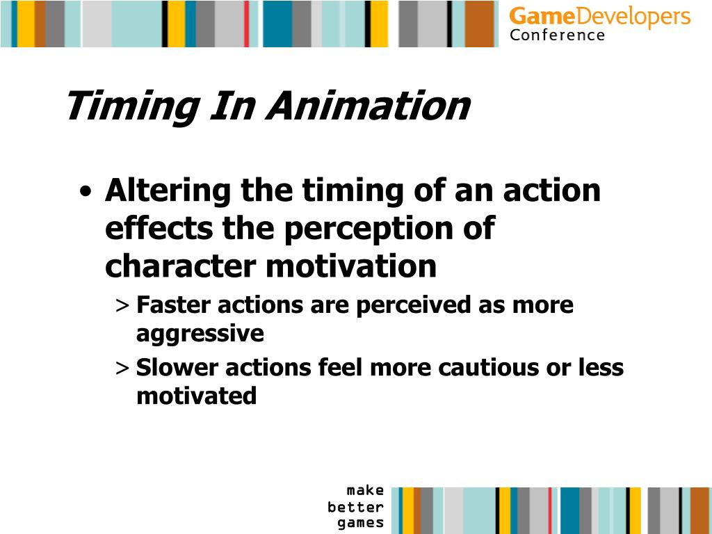 Timing In Animation