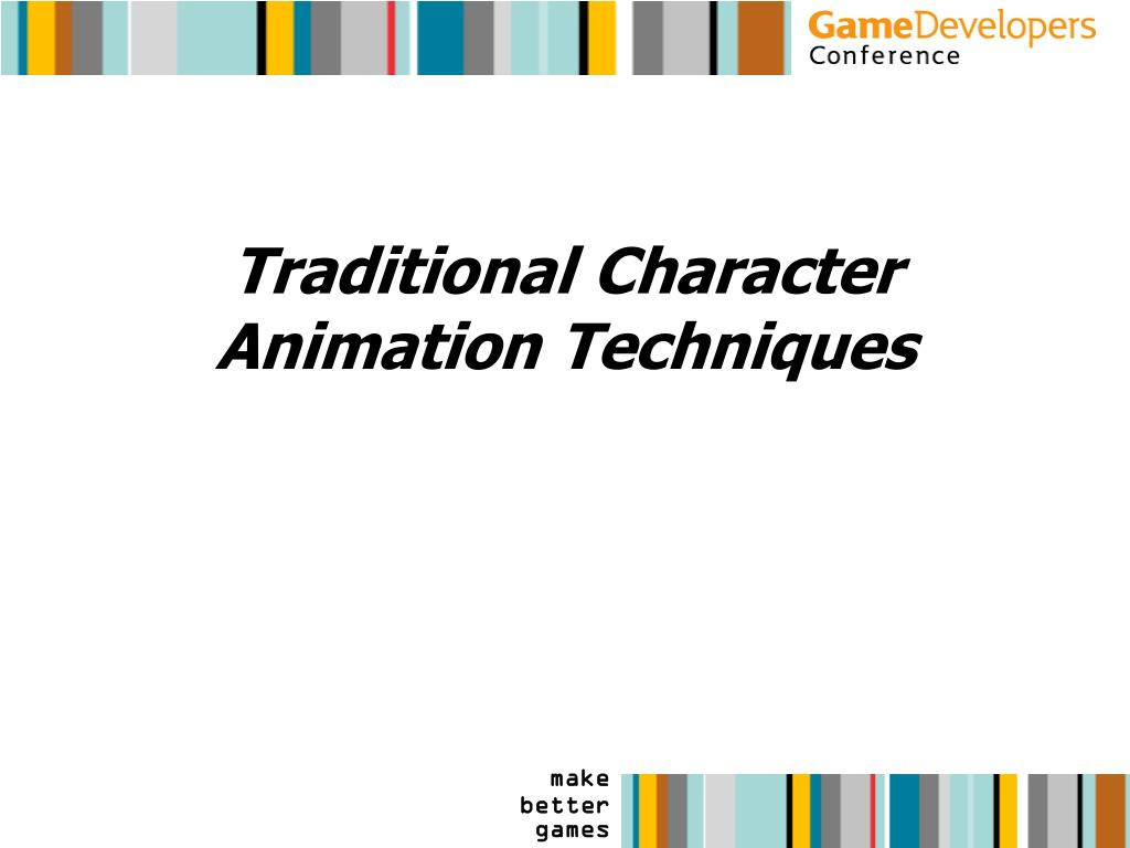 Traditional Character Animation Techniques