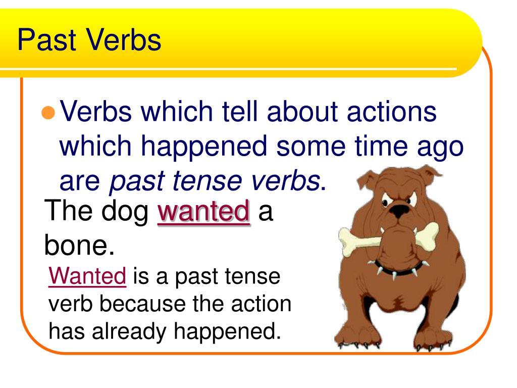 Past Verbs