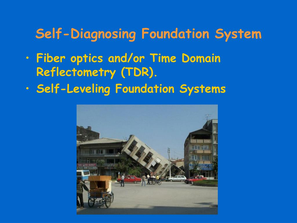 Self-Diagnosing Foundation System