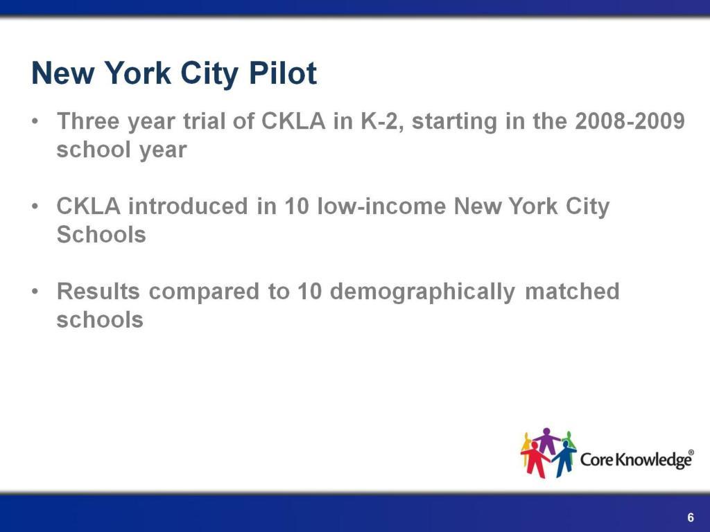 New York City Pilot
