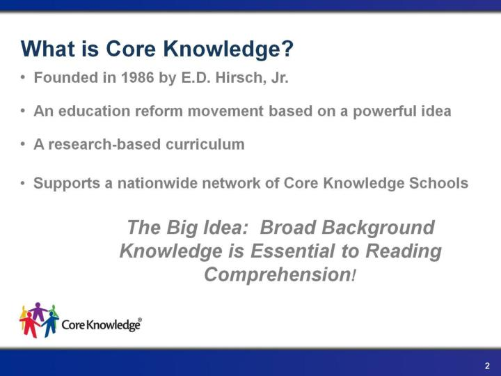 What is core knowledge